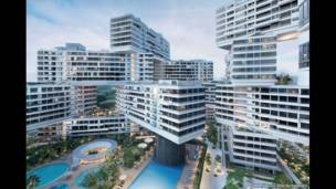 Комплекс Interlace, Сингапур, OMA/Ole Scheeren