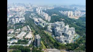 द इन्टरलेस, सिंगापुर