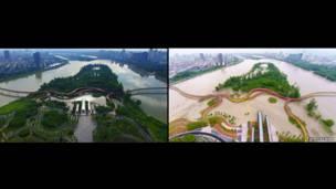 "Победитель ""Ландшафт года"" Yanweizhou Park/Turenscape International"
