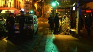 पेरिस में हमले के चश्मदीद