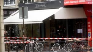 पेरिस में एक बार पर हमला