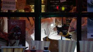 पेरिस के कैफ़े पर हमला