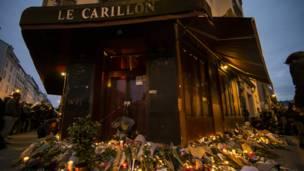 Париж, кафе Carillon