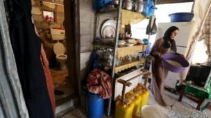 Туалет в Секторе Газа