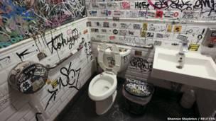 Туалет в Бруклине