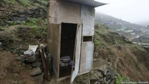 Туалет в Лиме, Перу