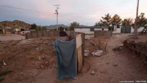 Туалет в Сьюдад-Хуарес, Мексика