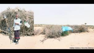 محمد، 70 عاما، من بيلدهالي، منطقة ماروودي جيكس، أرض الصومال.