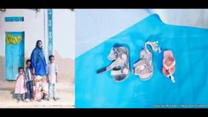 Sahel mai shekara 26 da 'ya'yanta da ke garin Gargara a yankin Awdal da ke kasar Somaliland.