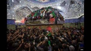 'Yan Shia  a birnin Karbala