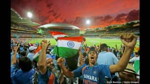 مشجعو الهند