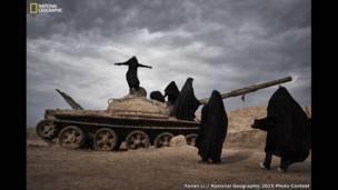 """""""إطلالة على العراق من إيران""""، تصوير يانان لي."""