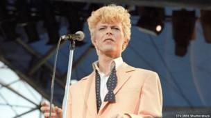 1983 में वॉटफोर्ड में डेविड बोई