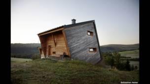 House in Oberwiesenthal, Germany. Sebastian Heise