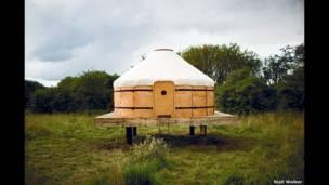 गैलेवो और डमफ्राइज में स्थित झोपड़ी, स्कॉटलैंड, ब्रिटेन