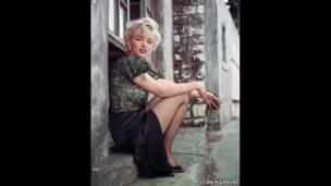 The Hooker Sitting, LA, 1956 - Milton H Greene / Archive Images