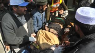 Korban serangan di Pakistan