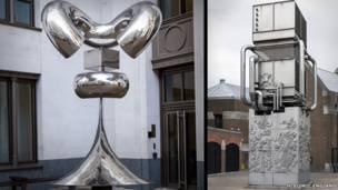 """تمثال """"شعيرة"""" وتمثال """"قبو التهوية"""""""