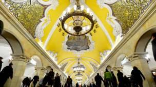"""Станция """"Комсомольская"""""""