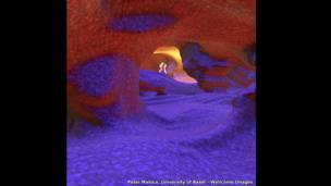 داخل العين البشرية – بيتر مالوكا، جامعة بازل.