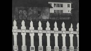 White Fence, Port Kent, New York, 1916 - Paul Strand Archive, Aperture Foundation