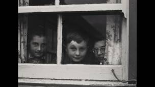 Milly, John and Jean Paul MacLellan, South Uist, Hebrides, 1954 - Paul Strand Archive, Aperture Foundation