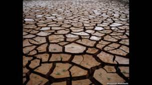 засуха в водохранилище Кантанейра, Сан-Пауло, Бразилия, 2015 год