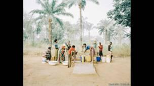 Водная колонка в Нигерии