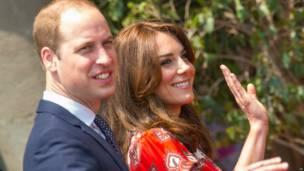 Герцог и герцогиня Кембриджские в Мумбаи