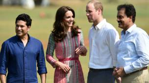 शाही जोड़े का भारत दौरा