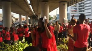 BBOG Protest