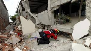 Terremoto en Ecuador