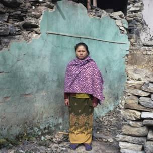 Laxmi Gurung. Gideon Mendel / Christian Aid