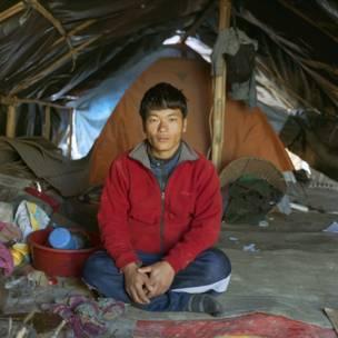 Sagar Tamang. Gideon Mendel / Christian Aid