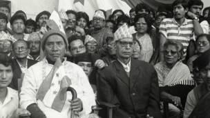 गणेशमान सिंह र मनमोहन अधिकारी