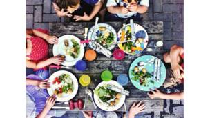 Kids' table - by Lucy Pope (UK) / FPOTY