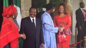 Ziyara Paul Biya a Nigeria