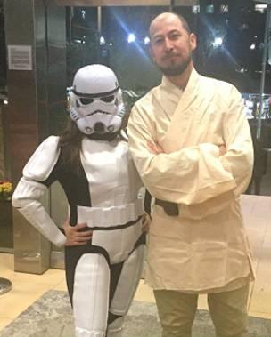 Trooper y Jedi