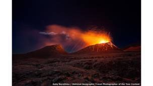 La Fournaise volcano by Gaby Barathieu / National Geographic Travel Photographer of the Year Contest