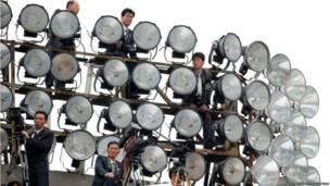 उत्तर कोरिया में चले चार दिवसीय कांग्रेस वर्कर्स पार्टी के नजारा