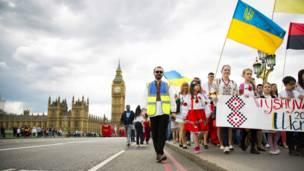 Марш вишиванок у Лондоні