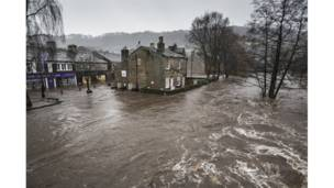Floods on Boxing Day - Hebden Bridge, West Yorkshire, UK.Steve Morgan