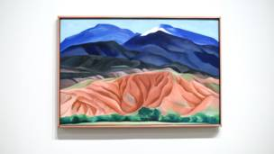 Black Mesa Landscape, 1930, by Georgia O'Keeffe