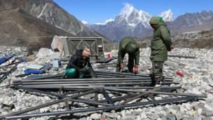 इम्जा ताल, नेपाल, सगरमाथा