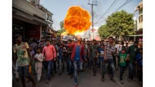 احتفال محرم في لكناو بالهند، مانياك غوتام