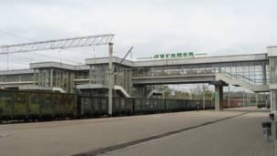 Вокзал Луганска в фото