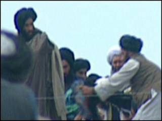 عکس منسوب به ملا عمر، رهبر گروه طالبان