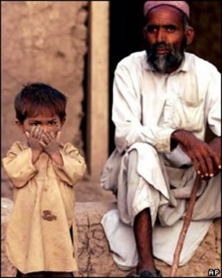 یک مرد مجروح افغان