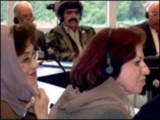 زنان افغان در مجلس نمایندگان