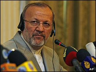 منوچهر متکی وزیر خارجه ایران
